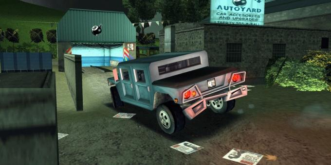 Staré hry na PC: Grand Theft Auto III